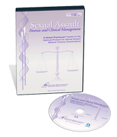 Sexual Assault: Forensic and Clinical Management DVD Case and Disc